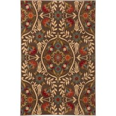 awesome Western Flowers Rug - 10 x 13 Check more at http://yorugs.com/shop/western-flowers-rug-10-x-13/