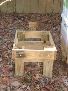 Build Your Own: Bee Hive Stand - Show Me The Honey! - Christopher Beeson - Beekeeper Blog - St Louis Missouri