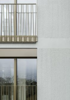 Railing Design, Facade Design, Exterior Design, House Design, Architecture Design, Residential Architecture, Modern Balcony, Building Costs, Balkon Design