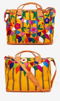 Bright and Beautiful Weekender Bag