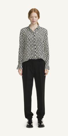 Nama silk shirt / Marimekko AW15
