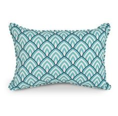 "Decorative lumbar pillow designed by Laurie Bell. Quick-drying polyester pillow inserts keep moisture out.100% polyester print fabric, 100% polyester fill.Selt welt, cut on the bias.Spot clean with a mild soap and water solution.Designed for Indoor/Outdoor use.1 Year Limited Warranty.Made in the USA.Free Standard Shipping!Dimensions: 20"" L x 12"" W . Price $44.99"