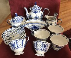 Russian porcelain tea set. by AdolphsTreasures on Etsy