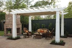 Pergola Shade Covers with Grommet...different waterproof pergola cover...good info!