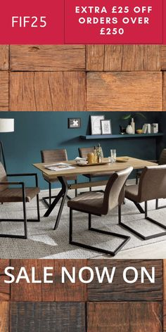 New Collection of solid wood & gloss dining tables sets