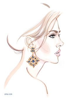 ACCESSORIES « Lena Ker | fashion illustration