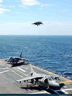 EAV-8B+ Harrier de la Armada Española.