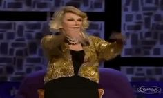 Joan Rivers' style through the years.