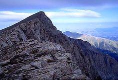 Climbed Mt. Olympus, Greece. 2007
