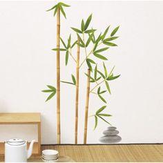 Sticker Bambou aurea, 50 x 70 cm   Leroy Merlin