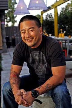 The adorable Roy Choi | LA Times—5 Questions for Roy Choi