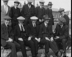 The winners of the 1914 FA Cup Final, Burnley.    Explore our collection of FA Cup footage here: http://www.britishpathe.com/workspaces/jhoyle/OSMjUNZY/thumb
