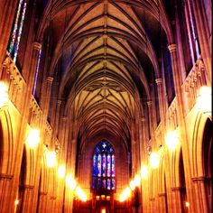 it would be all fine and dandy to go to europe some day and visit famous cathedrals and all but they will never top duke chapel. #home
