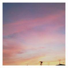 帰り道の空が、とても綺麗でした - @nightrainbow8- #webstagram