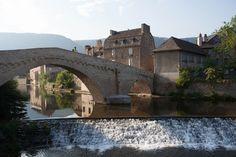 Le Pont Notre-Dame à #Mende en #Lozère