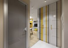 space, this refreshing stripe of lemon yellow really hits the spot.