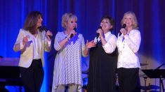 Lennon Sisters @ Lennon Family Concert in 2013, still sounding good together in their 60s and 70s.