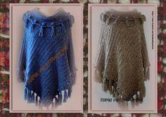 Poncho lynn patroon handmade by marian