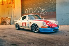 Magnus Walker's 1971 - one of many in his incredible pre 1974 collection.