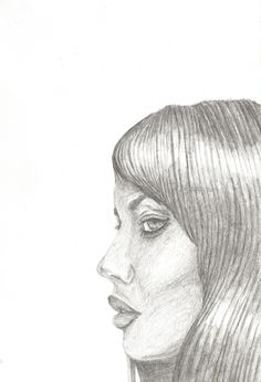 Custom Portrait   Pencil   Sketch   Drawing   Female face   Lips   Eyes   Hair   Beauty   The MHTM   Model - Rachel Aust   Custom Pencils, Pencil Sketch Drawing, Print Fonts, Female Face, Coloured Pencils, Cool Fonts, Cute Cards, Woman Face, Wall Prints