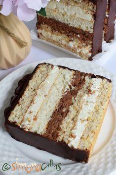 Pasta, Dessert Recipes, Desserts, Coco, Vanilla Cake, Nutella, Yummy Food, Sweets, Tailgate Desserts