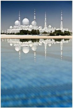 Abu Dhabi Mosque - an amazing place of beauty and solitude