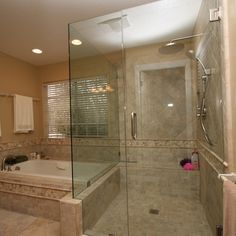 Bathroom Jet Tubs corner whirlpool tub shower combo - google search | shower remodel