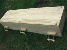 Pine Box Caskets Plans | Pine Box Coffin Graveyards, Casket, Small Boxes, Western Style, Handmade Wooden, Urn, Fun Ideas, Cemetery, Coffin