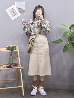 Clothing ideas on teen korean fashions 117 Source by jesuaa ideas korean Korean Fashion Trends, Korea Fashion, Asian Fashion, Daily Fashion, Cute Modest Outfits, Classy Outfits, Skirt Fashion, Fashion Outfits, Fasion