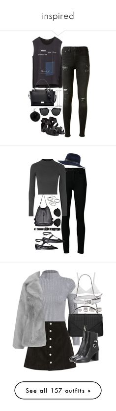 """""""inspired"""" by ohpezza ❤ liked on Polyvore featuring rag & bone, Zara, Elizabeth and James, Maria Black, Michael Kors, Paige Denim, Topshop, Apt. 9, 3.1 Phillip Lim and Valentino"""
