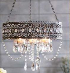 This chandelier is so amazing!