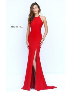 Shop long prom dresses and formal gowns for prom 2020 at PromGirl. Prom ball gowns, long evening dresses, mermaid prom dresses, long dresses for prom, and 2020 prom dresses. Sherri Hill Prom Dresses, Homecoming Dresses, Bridesmaid Dresses, Sherri Hill Red Dress, Red Dress Prom, Dress Black, Elegant Dresses, Pretty Dresses, Party Wear