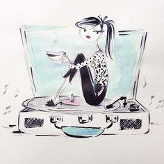 Anne Keenan Higgins illustration