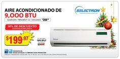 Acondicionador de Aire Split Selectron de 9,000 BTU a sólo US$199.97. www.multimax.net