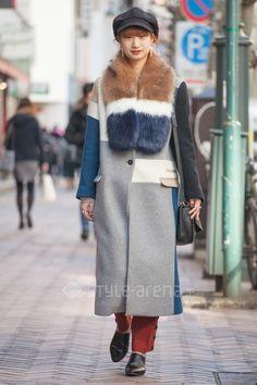 さやかさん | UN3D. 靴下屋 HARE  COACH WEGO g.u. PAMEO POSE OZOC | 2017年 3月 第1週 | 渋谷 | 東京ストリートスタイル | 東京のストリートファッション最新情報 | スタイルアリーナ