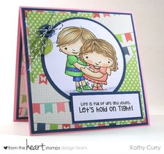 Will Stamp for wine: From the Heart Stamps June Blog Hop