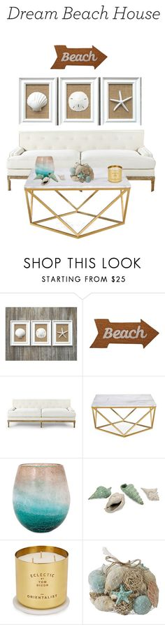"""""""🐚"""" by ciarahardie ❤ liked on Polyvore featuring interior, interiors, interior design, home, home decor, interior decorating, Mud Pie, Tom Dixon and Pier 1 Imports"""