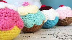 Tutorial: Pelotita de Cupcake a Crochet