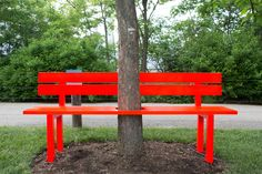 Review: 'Please Touch the Art' and 'Drifting in Daylight,' Outdoor Art at the Parks - NYTimes.com Mr. Hein's Bench