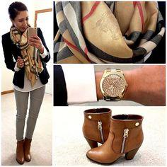 Blazer + Skinny Dress Pants. | Hello, Gorgeous! | Bloglovin'