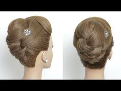 Perfect New Hairstyle For Long Medium Hair. My Hairstyle, Cool Hairstyles, Straight Hairstyles, Medium Hair Styles, Curly Hair Styles, Vintage Curls, Wedding Hairstyles For Medium Hair, Bridal Hair Updo, Prom Updo