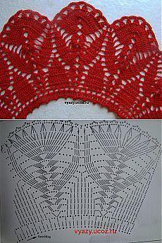 Fabulous Crochet a Little Black Crochet Dress Ideas. Georgeous Crochet a Little Black Crochet Dress Ideas. Crochet Collar Pattern, Col Crochet, Crochet Lace Collar, Crochet Patron, Crochet Cape, Crochet Diagram, Crochet Blouse, Thread Crochet, Crochet Motif