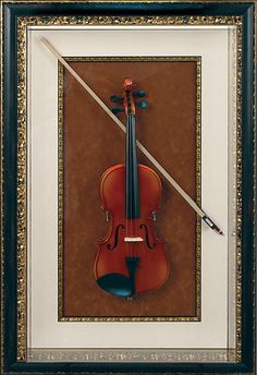 Even musical instruments can be #customframed - check out this stunning violin turned #art - wow!!!