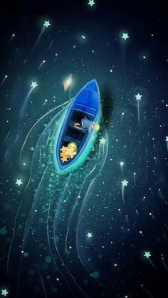 Art paint ocean ligth dark : Deep sadboy my litle ocean sad song lofi, art sad Ed Wallpaper, Scenery Wallpaper, Wallpaper Backgrounds, Fantasy Landscape, Fantasy Art, Art Triste, Japon Illustration, Night Illustration, Galaxy Painting