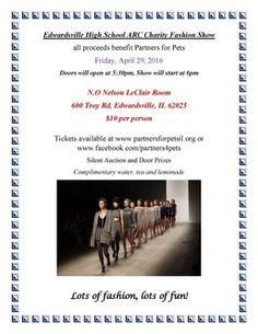 Partners For Pets - Edwardsville High School ARC Fashion Show