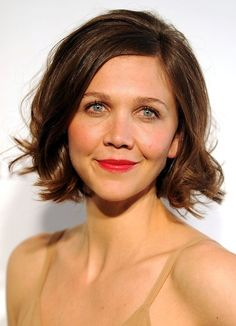 Maggie Gyllenhaal - chocolate brown