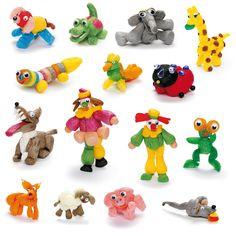 Flocons de maïs colorés pour créer des décors, des personnages, des animaux tout en s'amusant. Il suffit de les humidifier pour qu'ils se collent entre eux !