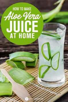 Doubt the authenticity of aloe vera juice found in the market? Why not make it at home? Yes, know here how to make aloe vera juice at home in 3 simple ways Aloe Vera Juice Recipes, Aloe Vera Juice Drink, Aloe Drink, Juice Drinks, Alovera Juice, Detox Drinks, Aloe Vera Recetas, Aloe Vera Uses, Using Aloe Vera Plant