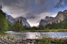 Merced River, Yosemite National Park jigsaw puzzle in Waterfalls puzzles on TheJigsawPuzzles.com