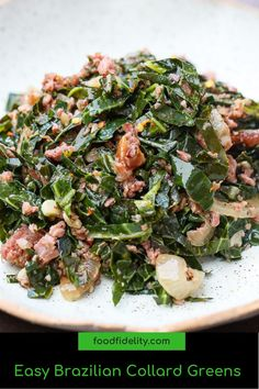 Side Dish Recipes, Easy Dinner Recipes, Easy Recipes, Easy Weeknight Meals, Quick Easy Meals, Recipe Share, Collard Greens, Southern Recipes, One Pot Meals